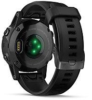 Garmin Fenix 5S Plus Sapphire - GPS-Multisportuhr, Black
