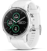 Garmin Fenix 5S Plus Sapphire - GPS-Multisportuhr, White