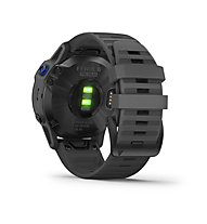 Garmin Fenix 6 Pro Solar - smartwatch solare, Black/Dark Grey