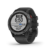 Garmin Fenix 6 Pro Solar - smartwatch solare, Dark Grey/Black