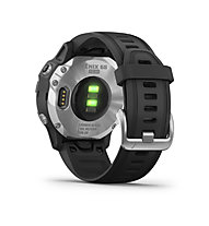 Garmin Fenix 6S Solar - Sportuhr mit Solartechnologie, Silver/Black