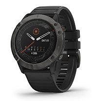 Garmin Fenix 6X Pro Solar - orologio sportivo solare, Black
