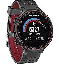 Garmin Forerunner 235 Sportuhr für Läufer, Black/Red