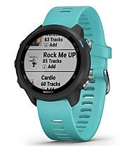 Garmin Forerunner 245 Music - orologio multisport GPS, Light Blue