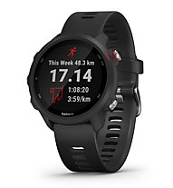 Garmin Forerunner 245 Music - Multisportuhr GPS, Black/Red