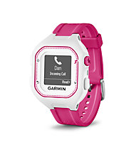 Garmin Forerunner 25 HR, White/Rose