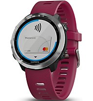 Garmin Forerunner 645 Music - orologio GPS multisport, Violet