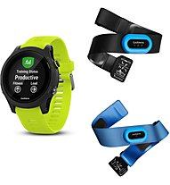 Garmin Forerunner 935 TriBundle - orologio GPS multisport, Lime Green