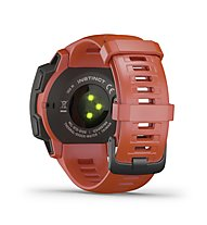 Garmin Instinct - Outdoor-Smartwatch, Red