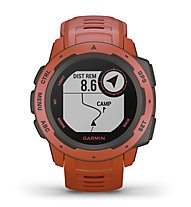 Garmin Instinct - orologio GPS multisport, Red