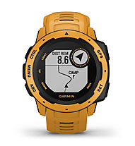 Garmin Instinct - Outdoor-Smartwatch, Dark Yellow