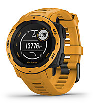 Garmin Instinct - orologio GPS multisport, Dark Yellow