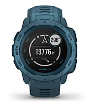 Garmin Instinct - Outdoor-Smartwatch, Blue