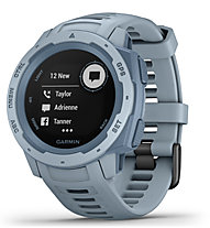 Garmin Instinct - Outdoor-Smartwatch, Light Blue