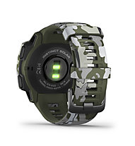 Garmin Instinct Solar Camo Edition - orologio solare GPS, Green