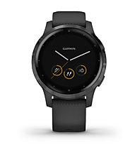 Garmin Vivoactive 4S - GPS Sportuhr - Damen, Black/Black