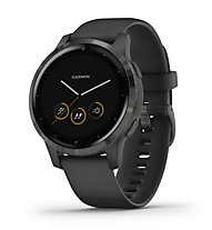 Garmin Vivoactive 4S - orologio sportivo - donna, Black/Black
