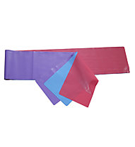 Get Fit Aerobic Band Blister 3PCS - Elastici fitness, Lilac/Blue/Red