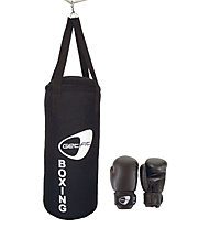 Get Fit Box Set Jr - sacco e guanti boxe - bambino, Black