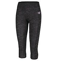 Get Fit Capri Pant Flame W - Fitnesshose 3/4 - Damen, Black