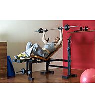 Get Fit Chrome Bar 1800 mm - bilanciere fitness, Grey