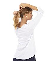 Get Fit Coco - 3/4 Langarmshirt - Damen, White