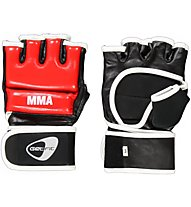 Get Fit Cowhide Leather Fit Box Gloves - Boxhandschuhe, Red/Black