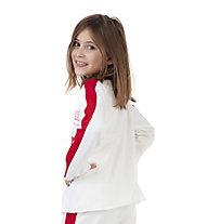 Get Fit Crew - Sweatshirt - Mädchen, White/Red
