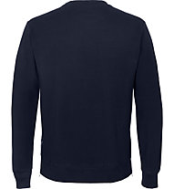 Get Fit Crew Neck 2-Zip Papu - Sweatshirt - Herren, Blue
