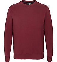 Get Fit Crew Neck 2-Zip Papu - Sweatshirt - Herren, Dark Red