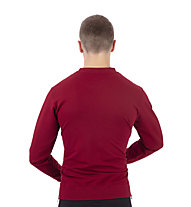 Get Fit Crew Neck 2-Zip Papu - Sweatshirt - Herren, Red