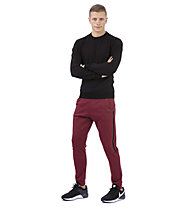 Get Fit Crew Neck 2-Zip Papu - Sweatshirt - Herren, Black
