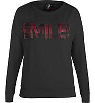 Get Fit Crew Neck Sweater Tartan - felpa - donna, Black