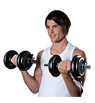 Get Fit Dumbbell set spring 20kg - Hantelset, Black