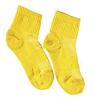 Get Fit Everyday Quarter Bi-Pack Socken Kinder, Yellow