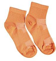 Get Fit Everyday Quarter Bi-Pack Socken Kinder, Orange