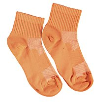Get Fit Everyday Quarter Bi-Pack Socken Kinder, Orange