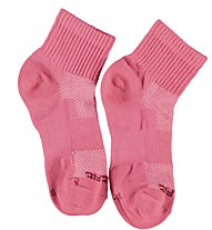 Get Fit Everyday Quarter Bi-Pack Socken Kinder, Pink