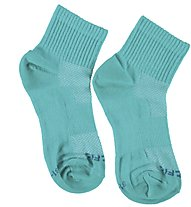 Get Fit Everyday Quarter Bi-Pack Socken Kinder, Turquoise