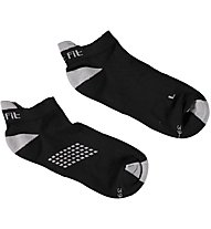 Get Fit Fitness C Bi-Pack Sneaker-Socken, Black