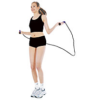 Get Fit Foam Jump Rope, Purple/Black