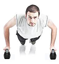 Get Fit Foam Push Up Bars Pair - Attrezzi fitness piccoli