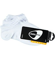 Get Fit Footie 3 Pack Kurzsocken, White