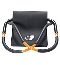 Get Fit Force Roller - attrezzo fitness per addominali, Black/Orange