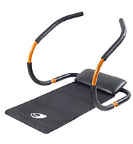 Get Fit Bauchmuskeltrainer Force Roller, Black/Orange