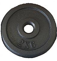 Get Fit Gewichtsscheiben - Zubehör Kraftsport, 2 kg