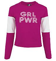 Get Fit Girl Power - felpa girocollo - bambina, Pink