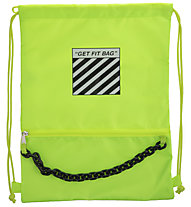 Get Fit Gymbag 42x32 - sacca portascarpe, Yellow