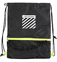 Get Fit Gymbag 42x32 - sacca portascarpe, Black