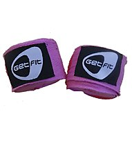 Get Fit Hand Wraps, Pink
